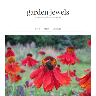 Garden Jewels - website designed by Pagecrafted