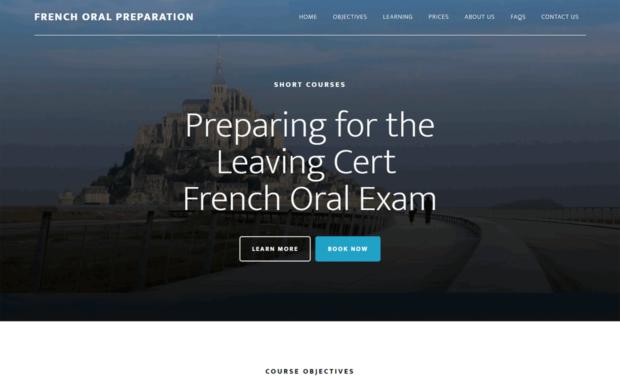 French Oral Preparation