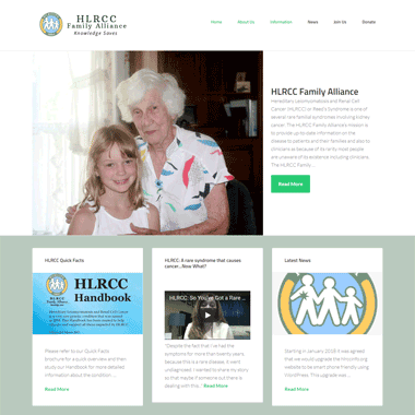 HLRCC Family Alliance - Affordable website designed by Pagecrafted