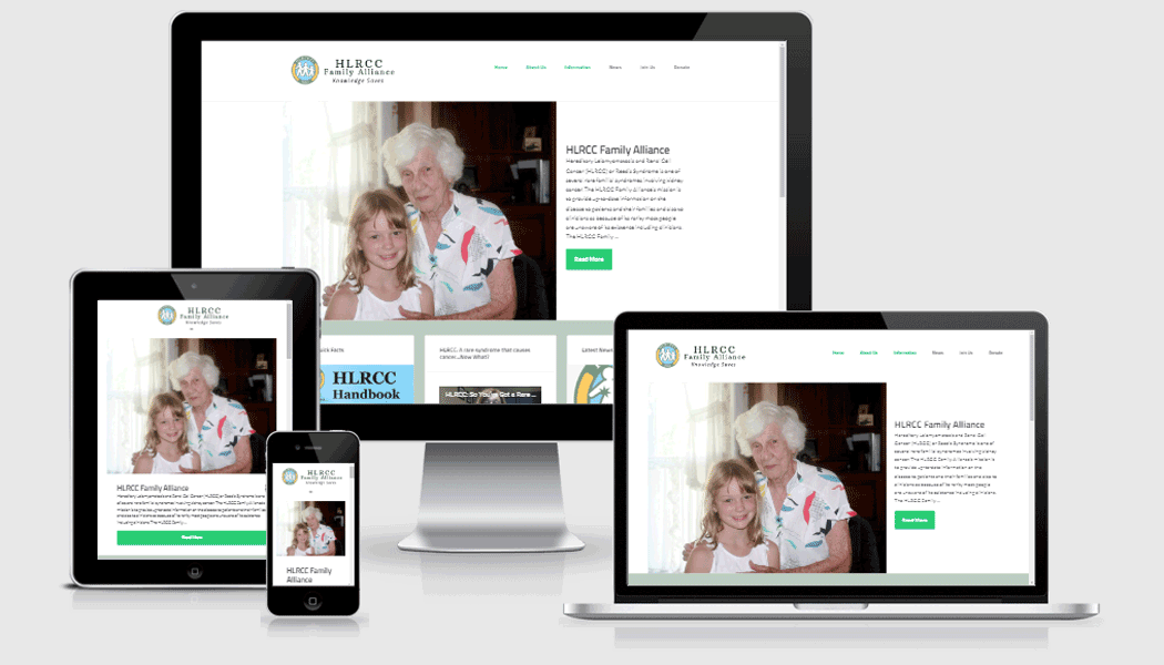 HLRCC Family Alliance - website designed by Pagecrafted