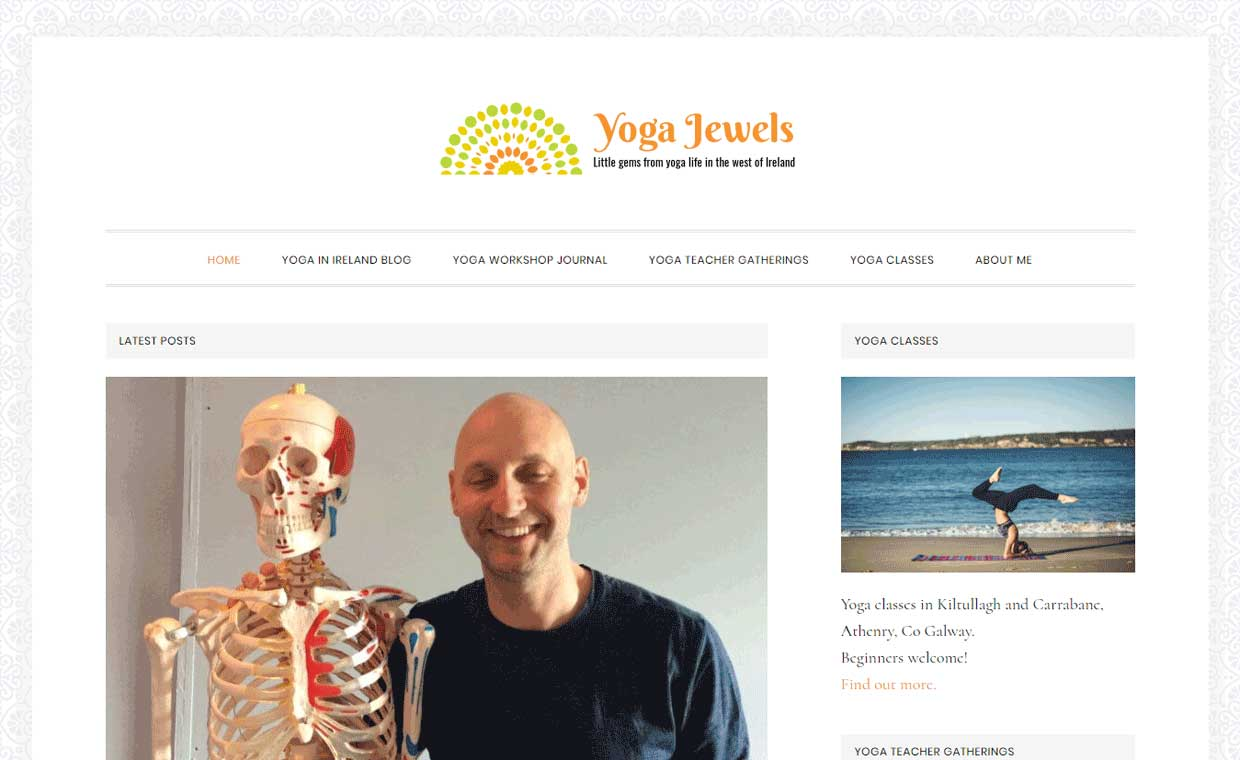 Affordable website by Pagecrafted - Galway - Yoga Jewels